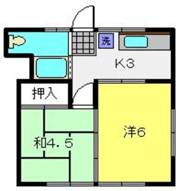 鈴木荘間取図