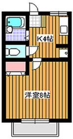 成増駅 徒歩3分1階Fの間取り画像