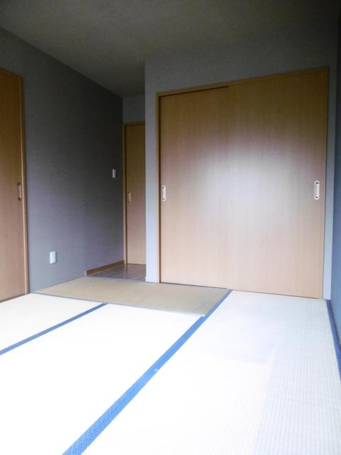 アクセントクロスの和室です