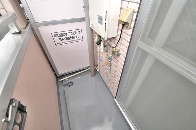 リップル布施イースト 洗濯して一歩も動かずに洗濯物を干せるのがうれしいですね。