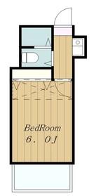 ベールクロヌ1階Fの間取り画像