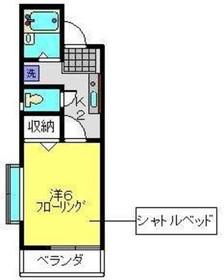 グラン・カーサ2階Fの間取り画像