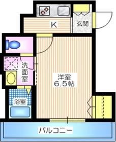 ao yokohama3階Fの間取り画像