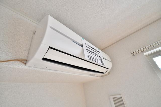 メゾン・みのうら エアコンが最初からついているなんて、本当に助かりますね。
