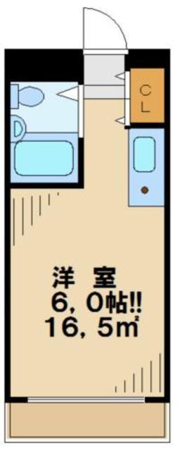 メゾンドノア聖蹟桜ヶ丘間取図