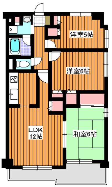 地下鉄赤塚駅 徒歩2分間取図