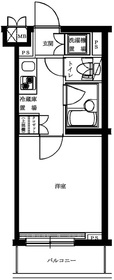 ルーブル桜台3階Fの間取り画像