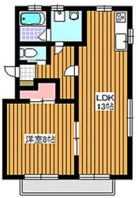 和光市駅 徒歩9分1階Fの間取り画像