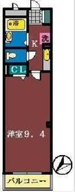 ハイドランジェ1階Fの間取り画像