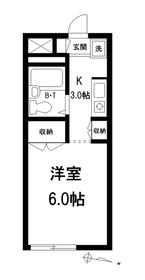 エ・ソール千川1階Fの間取り画像