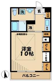 栗平駅 徒歩10分1階Fの間取り画像