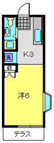 メゾン・ブルーム1階Fの間取り画像
