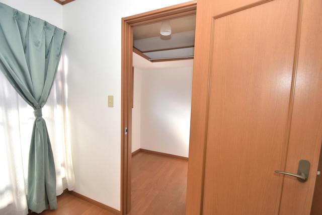 大蓮南2-18-9 貸家 人気のWICです。広々とお部屋が使えますね。