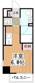プライムアーバン久米川4階Fの間取り画像