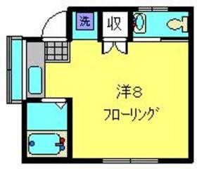 ローリエ1階Fの間取り画像