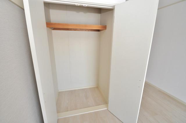 ビオス中小阪 もちろん収納スペースも確保。いたれりつくせりのお部屋です。