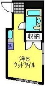 コア・サカガミ3階Fの間取り画像