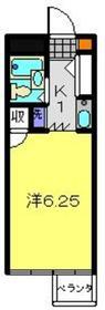 日吉駅 徒歩6分4階Fの間取り画像
