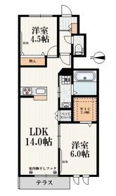 (仮称)栄5丁目メゾン1階Fの間取り画像