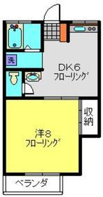 二子新地駅 徒歩24分1階Fの間取り画像