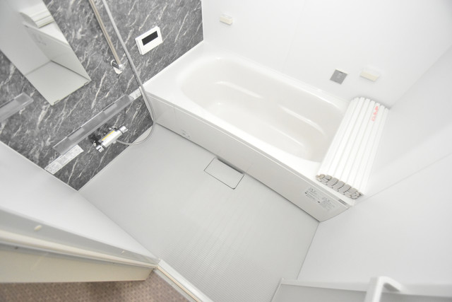 Charme Lacine(シャルム ラシーネ) ちょうどいいサイズのお風呂です。お掃除も楽にできますよ。