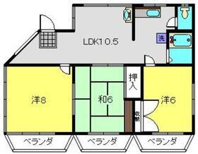 KIDOハイム2階Fの間取り画像