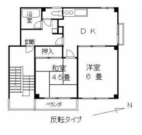 ベルピア本田3階Fの間取り画像