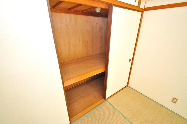 TSUJIHANAビルディング もちろん収納スペースも確保。おかげでお部屋の中がスッキリ。