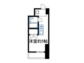 コスモヒロ南台4階Fの間取り画像
