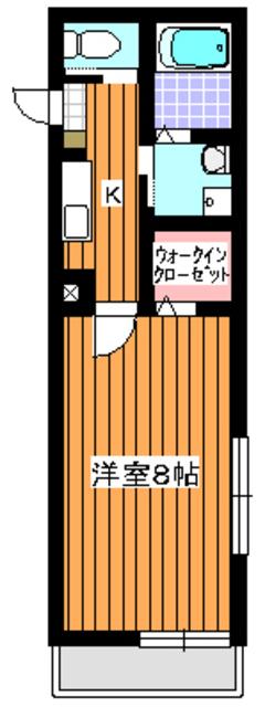 サニーコート成増間取図