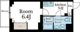 ABODE東浅草6階Fの間取り画像