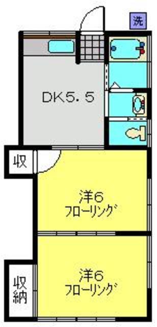 アパートメントスミカ間取図
