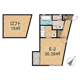 M-unit2階Fの間取り画像