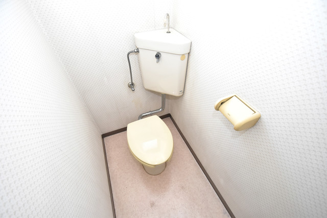 シャトーユキ 清潔感のある爽やかなトイレ。誰もがリラックスできる空間です。