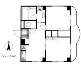 メゾン・ド・ティーグル3階Fの間取り画像