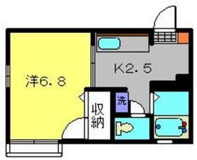 エルム篠原1階Fの間取り画像