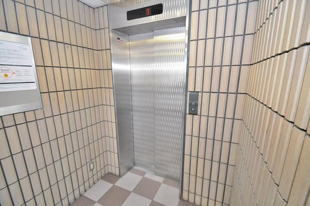 シティビラ新深江 エレベーター付き。これで重たい荷物があっても安心ですね。