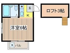 パールハイム2階Fの間取り画像