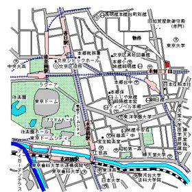 パークアクシス本郷の杜案内図
