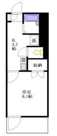さくらハウス2階Fの間取り画像