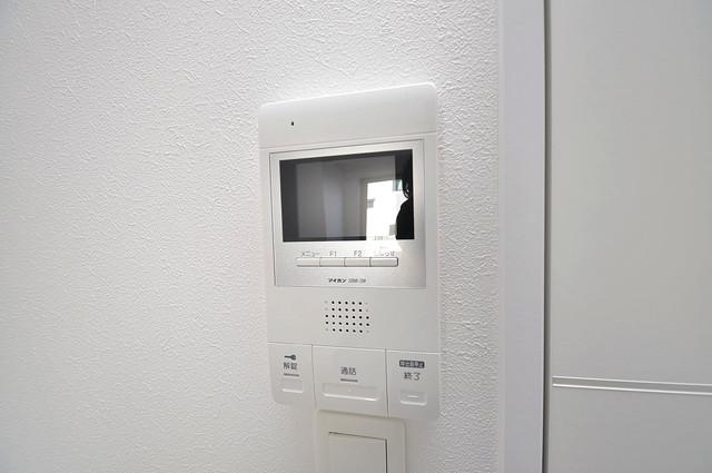 ラ・ハイール北巽 モニター付きインターフォンでセキュリティ対策もバッチリ。