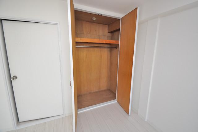 OMレジデンス八戸ノ里 もちろん収納スペースも確保。いたれりつくせりのお部屋です。
