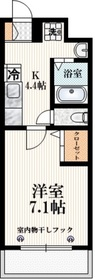 Le Grand Vert Karasuyama3階Fの間取り画像