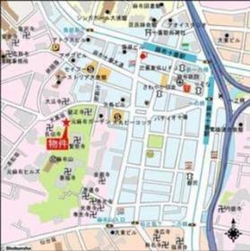 麻布十番駅 徒歩5分案内図