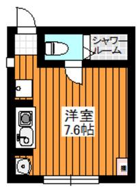 ルーセ2階Fの間取り画像