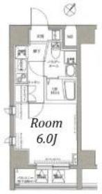 フェルクルール横浜新子安プレセダンヒルズ11階Fの間取り画像