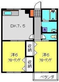セリアン22階Fの間取り画像