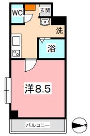 アイディアル3階Fの間取り画像