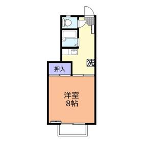 第7三建レヂデンス2階Fの間取り画像