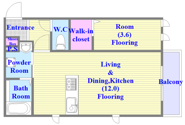 ma.maison(マ.メゾン) リビングが広く、各所に収納がある使いやすい間取り。